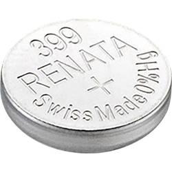 Knoflíková baterie na bázi oxidu stříbra Renata SR57, velikost 399, 53 mAh, 1,55 V