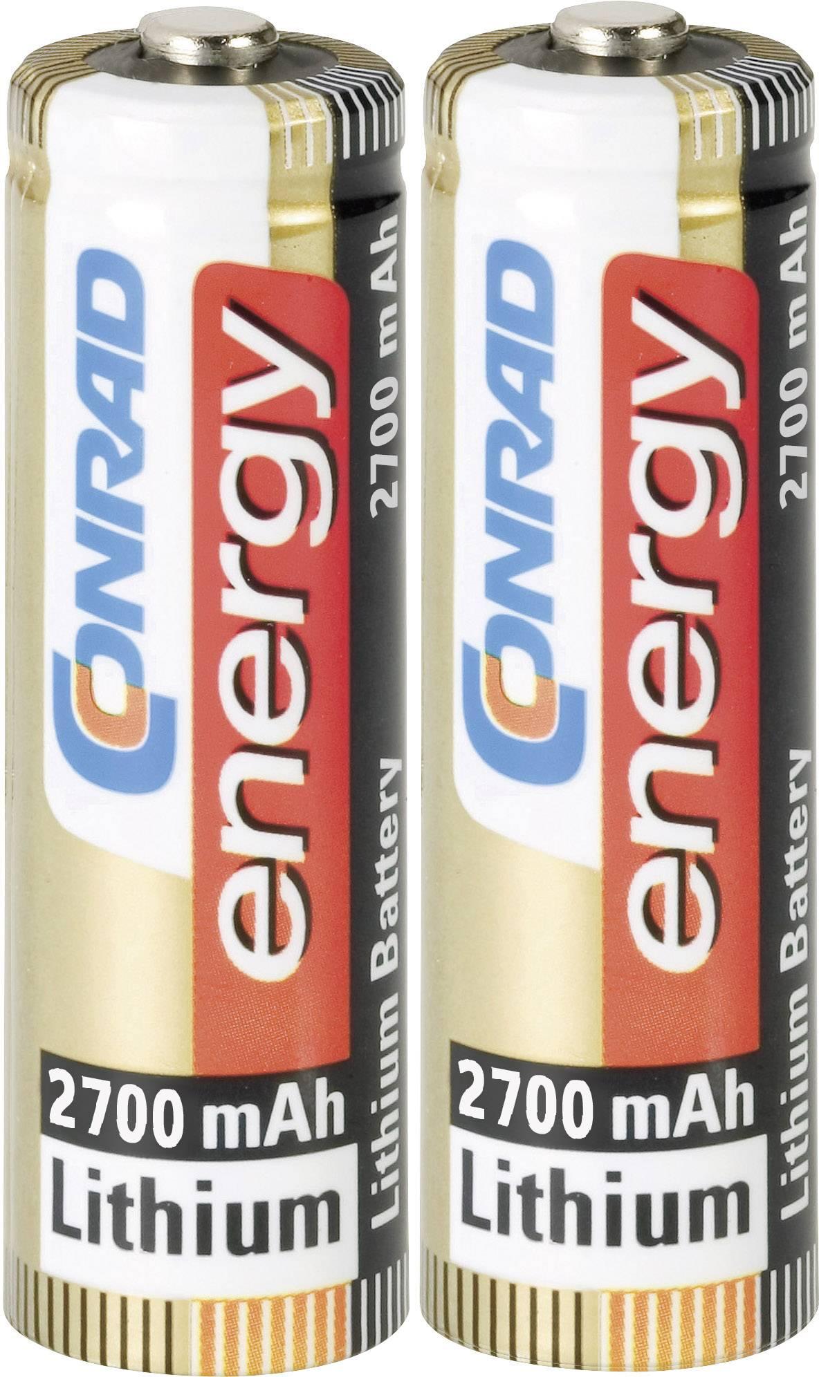 Lithiové baterie Extreme Power, typ AA, 2 ks
