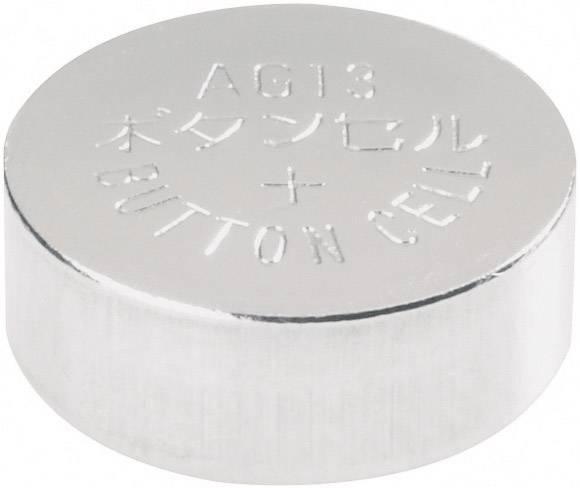 Conrad Energy alkalické gombíkové batérie LR 44