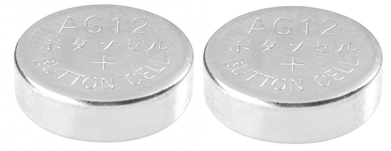Conrad Energy alkalické gombíkové batérie LR 43