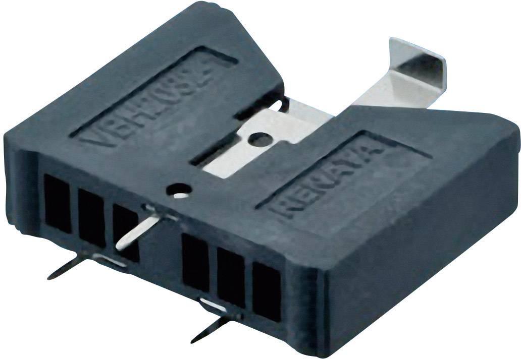 Držák na knoflíkovou baterii CR2032 Renata VBH2032-1, vertikální