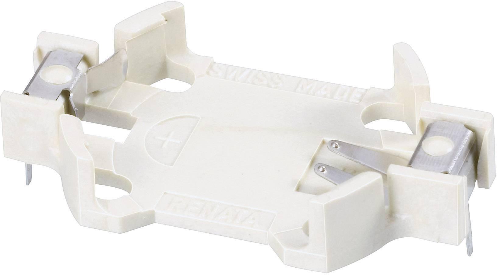 Držák na knoflíkovou baterii CR2032 Renata HU2032-LF, s pájecími kontakty