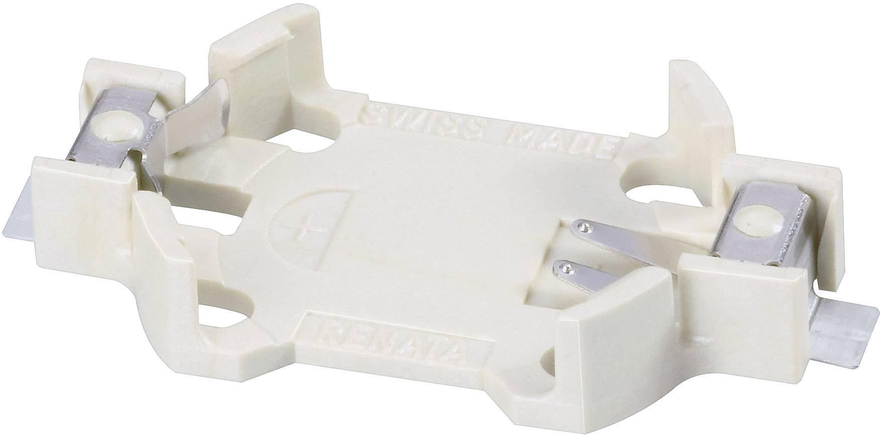 Držák na knoflíkovou baterii CR2032 Renata SMTU2032-LF, SMD