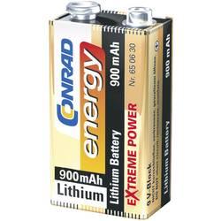Conrad Energy Lítiová 9 V blok batéria