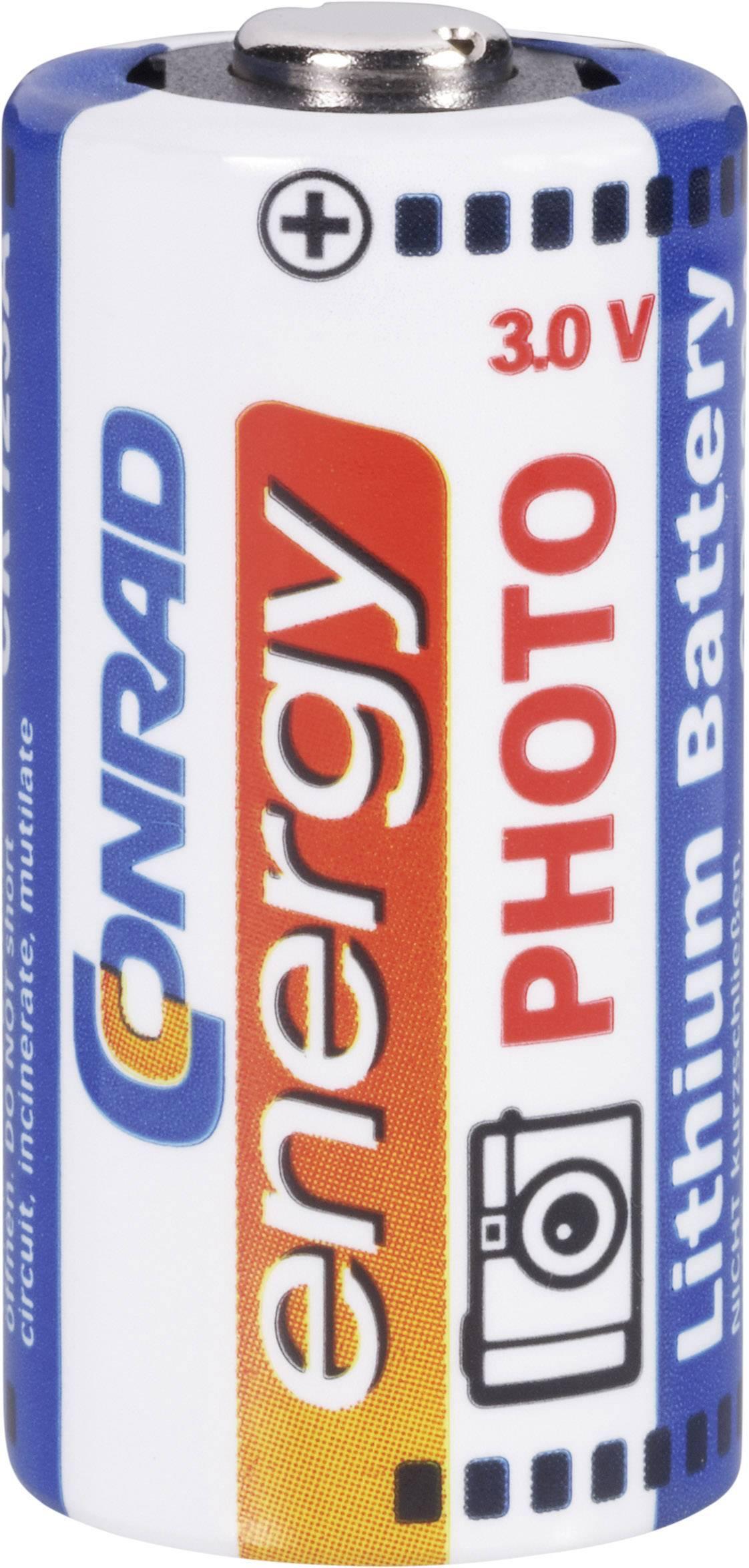 Conrad Energy CR 123 A lítiová foto batéria