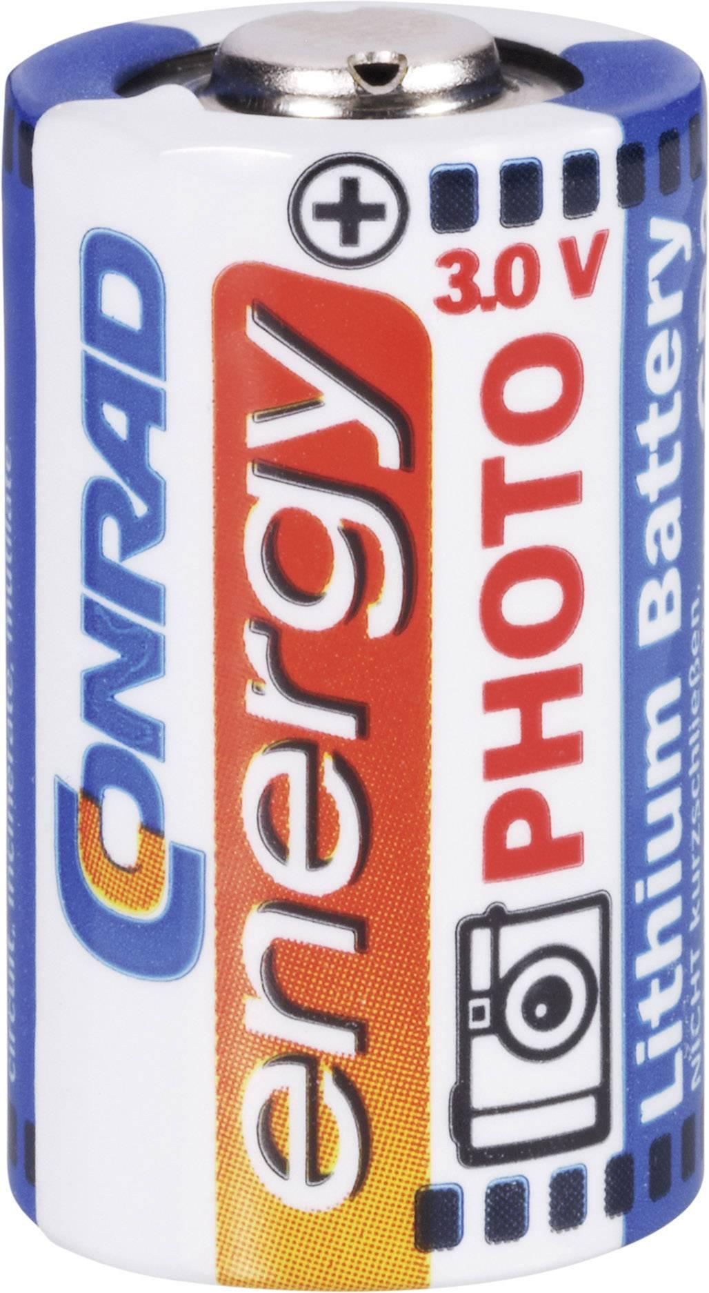 Conrad Energy CR 2 lítiová foto batéria