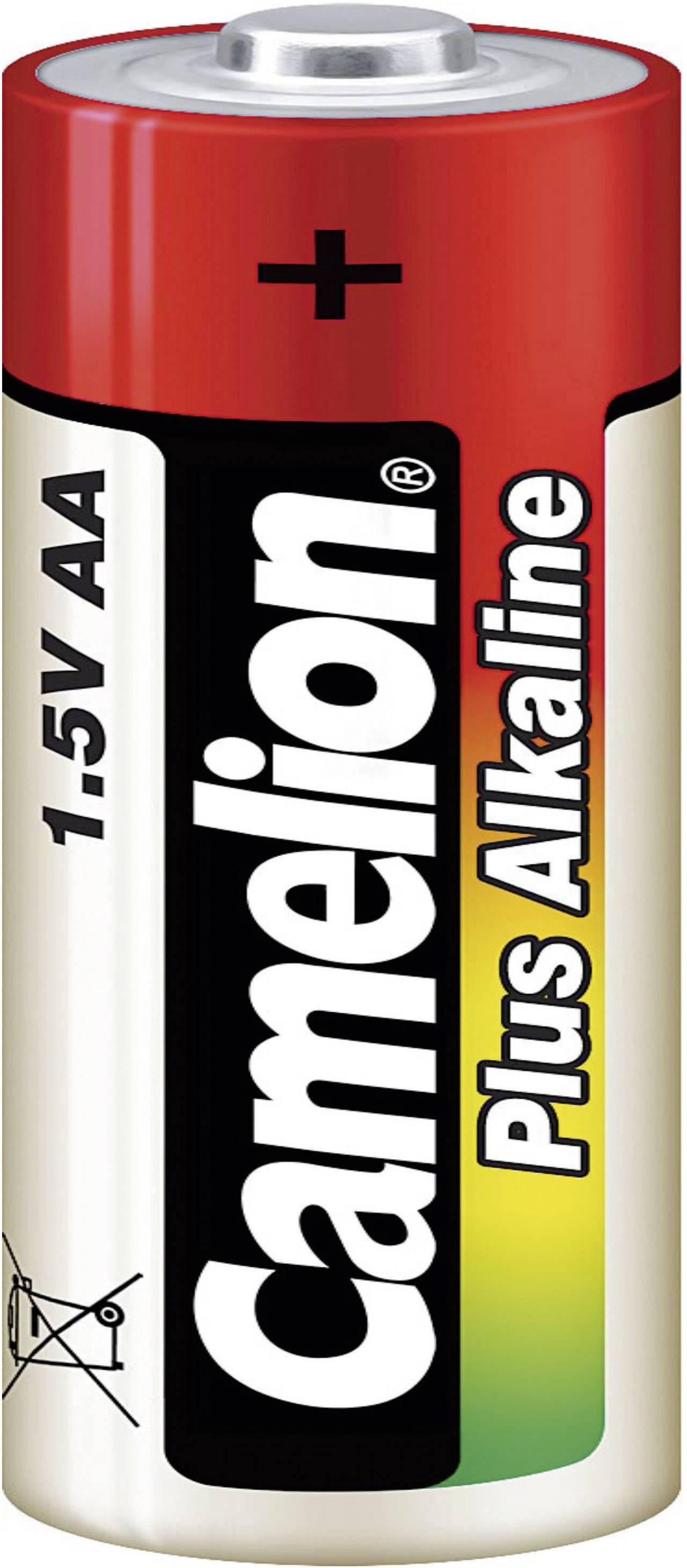 Camelion 24 ks alkalických batérií AA + plastový box