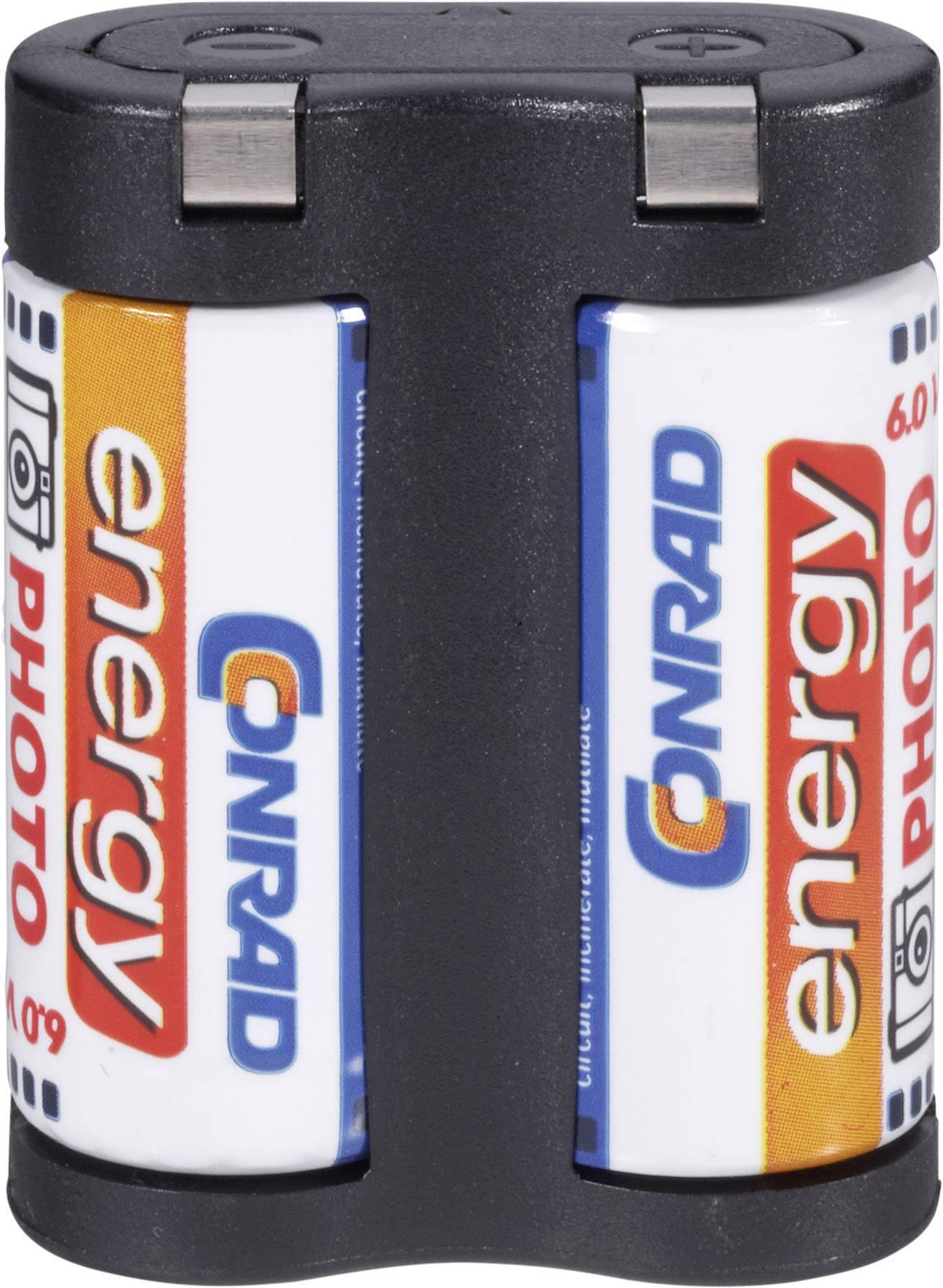 Conrad Energy lítiové foto batérie 2 CR 5