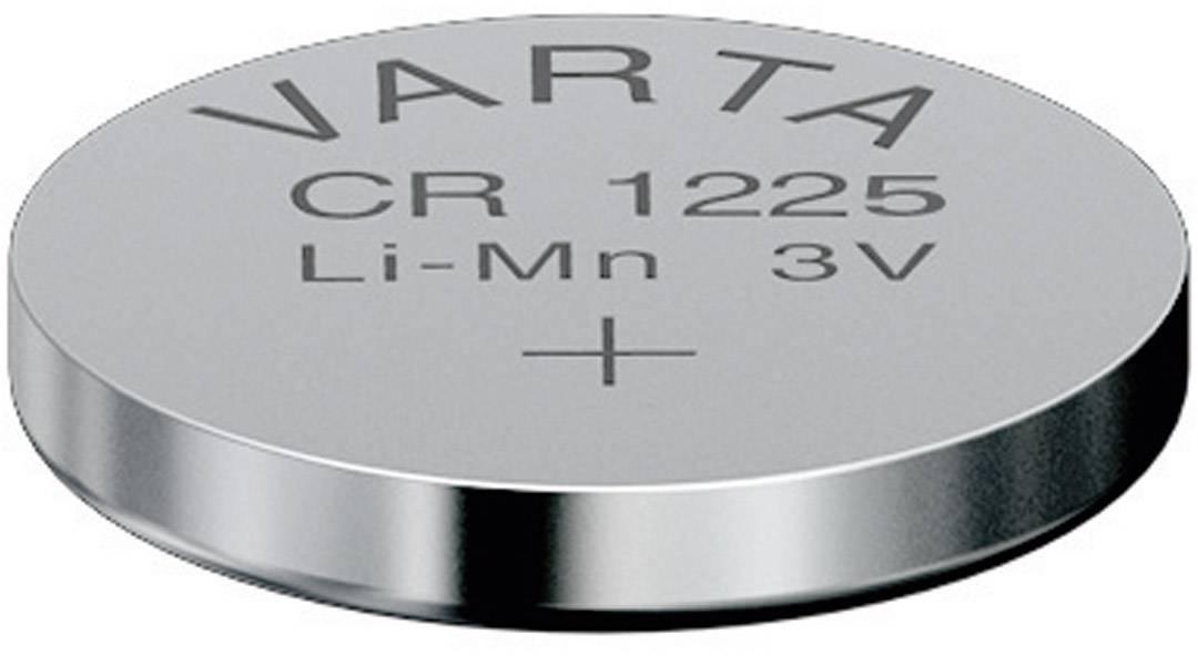 Knoflíková baterie Varta CR1225, lithium, 6225101401