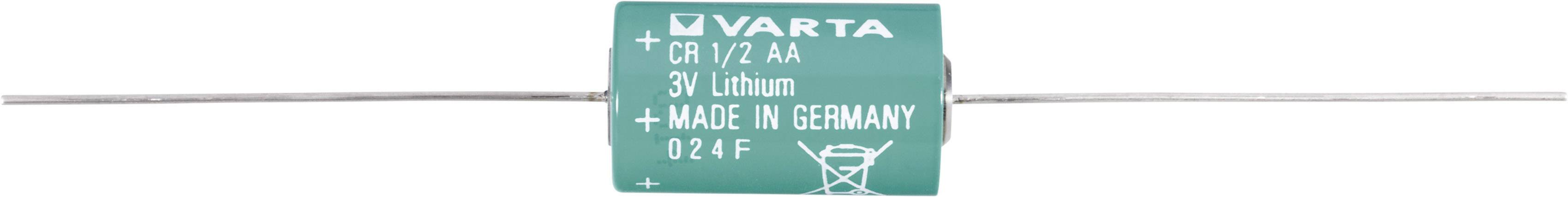 Špeciálny typ batérie CR 1/2 AA CD lítium, Varta CR1/2 AA CD, 970 mAh, 3 V, 1 ks