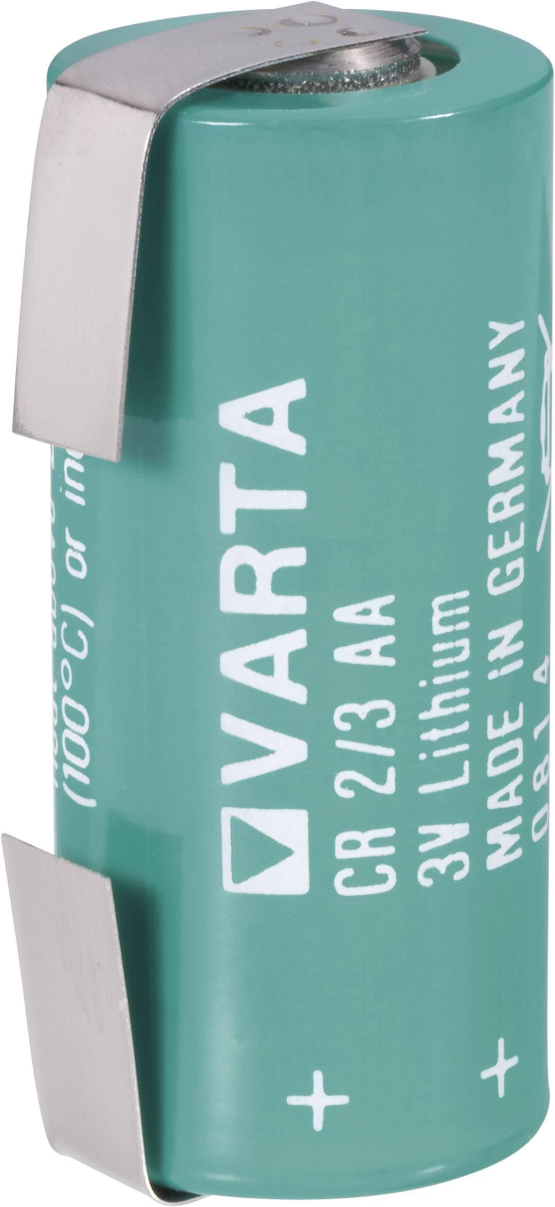 Špeciálny typ batérie CR 2/3 AA LF lítium, Varta CR2/3 LF, 1350 mAh, 3 V, 1 ks