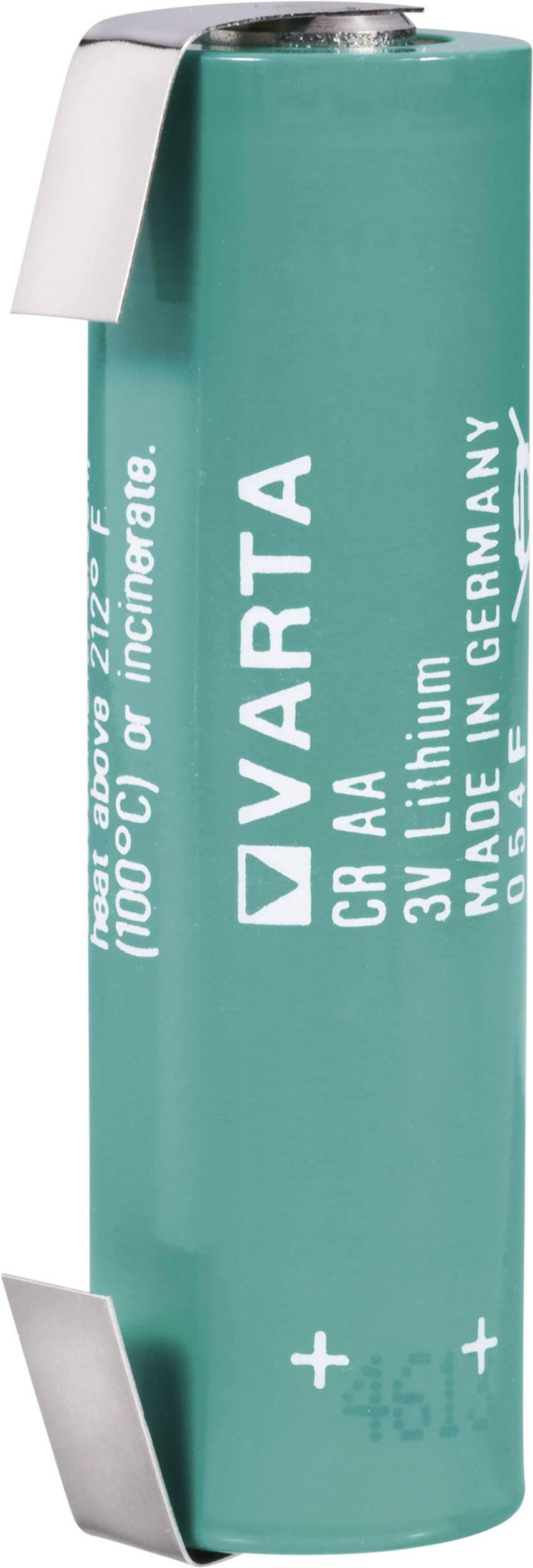 Špeciálny typ batérie CR AA LF lítium, Varta CR AA LF, 2000 mAh, 3 V, 1 ks