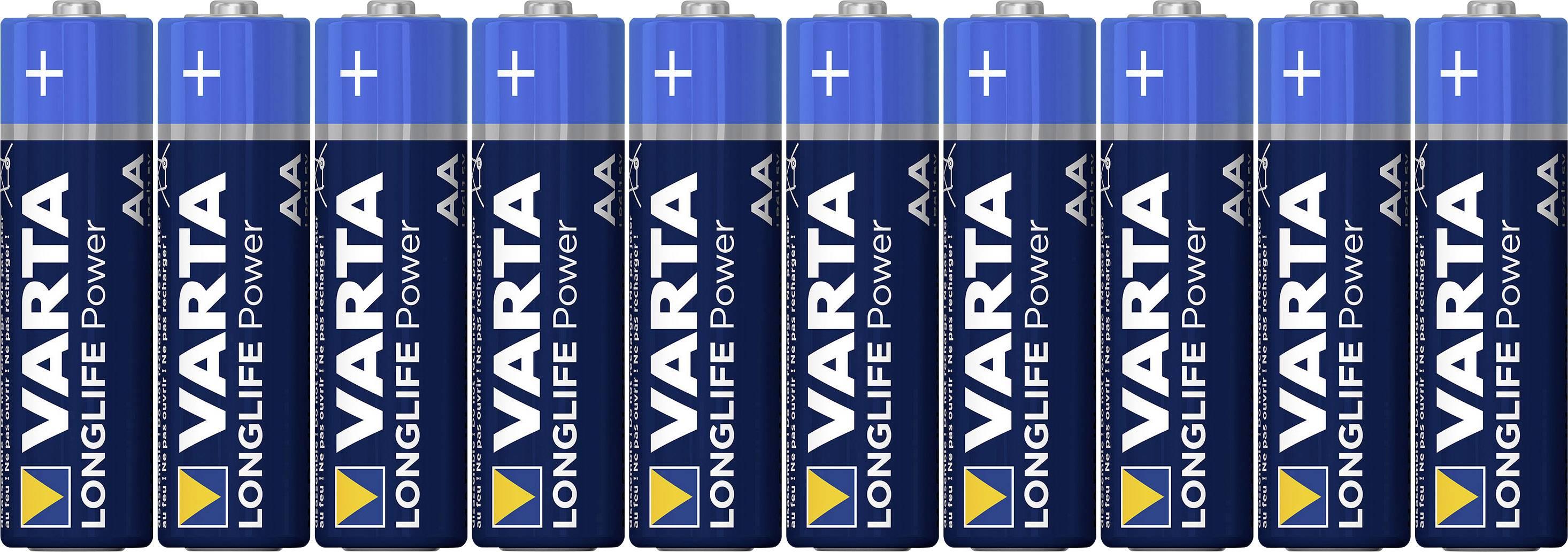 Batéria VARTA High Energy 10 ks, AA, 1,5 V