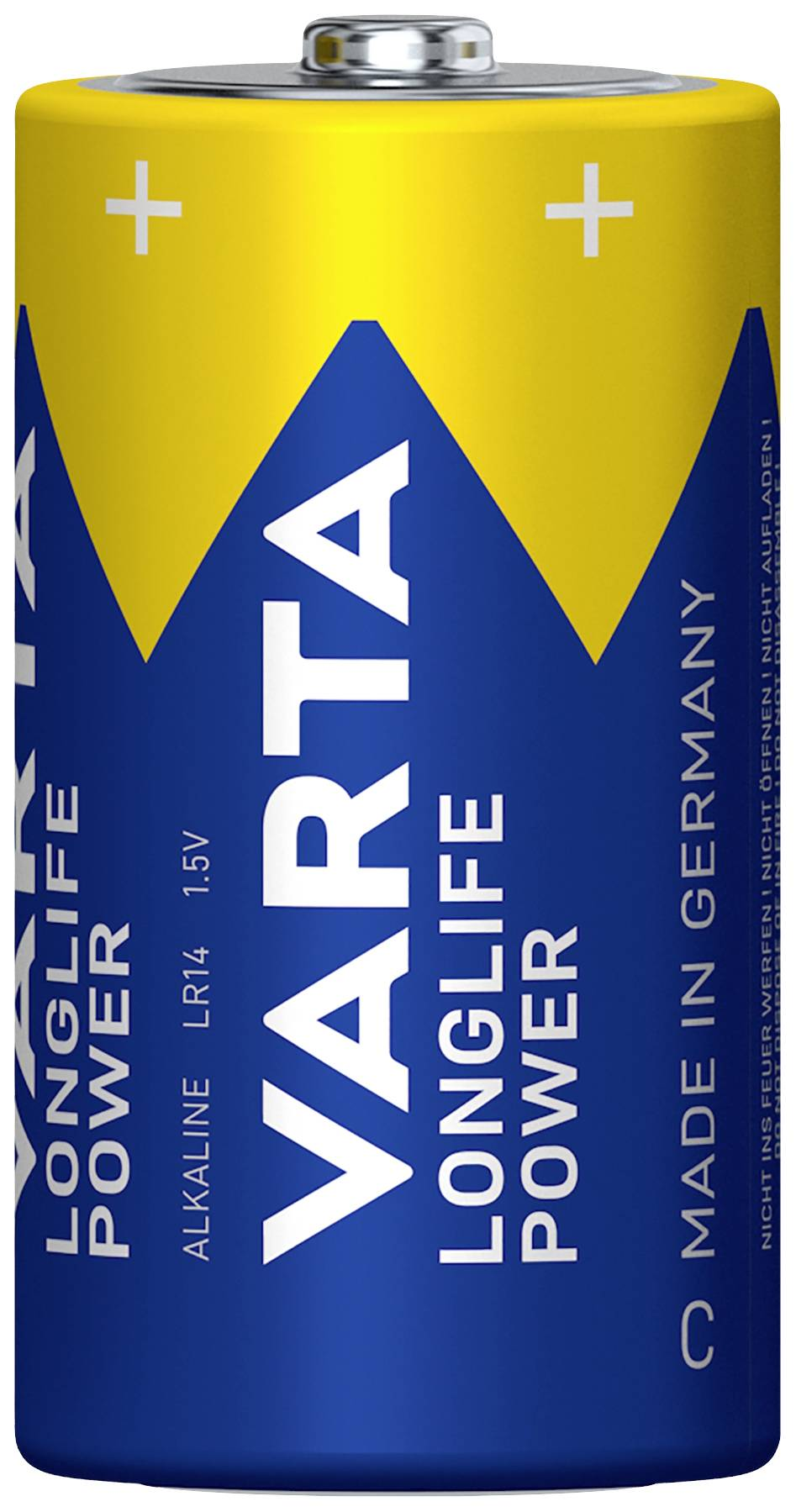 Batéria VARTA High Energy 2 ks, malé mono, 1,5 V