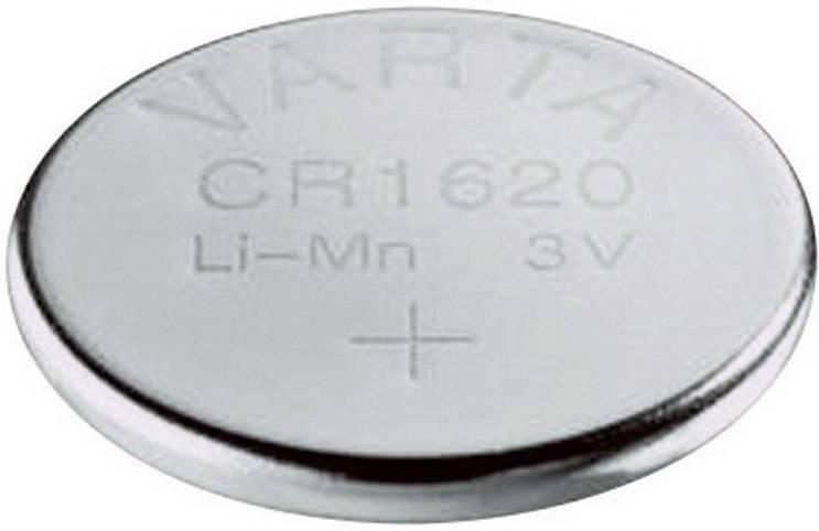 Knoflíková baterie Varta CR1620, lithium