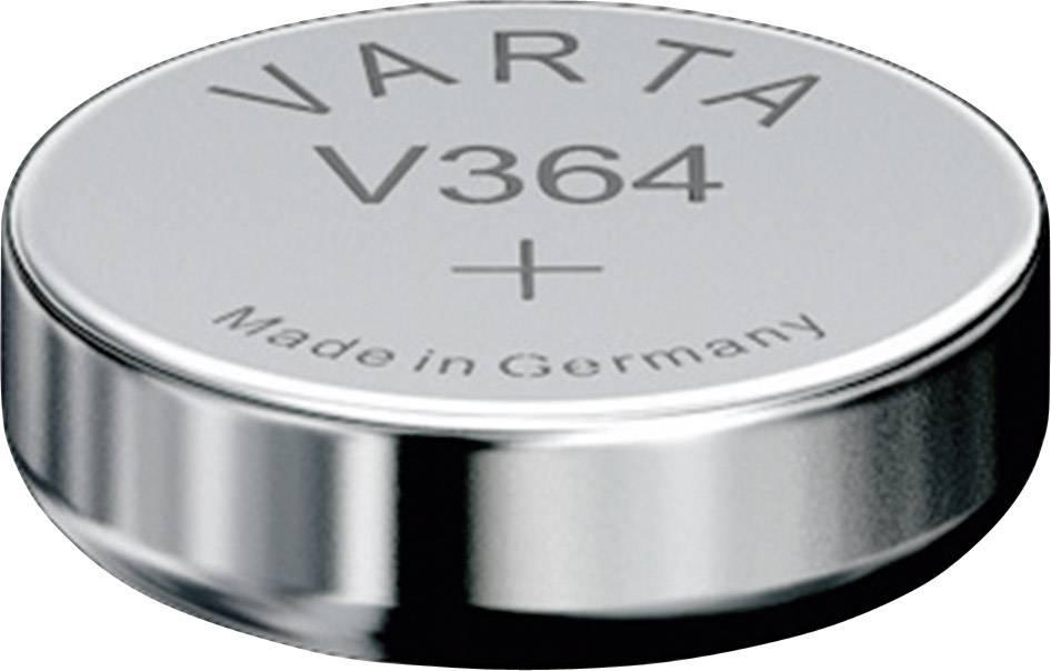Gombíkové batérie (oxid striebra) 20 mAh