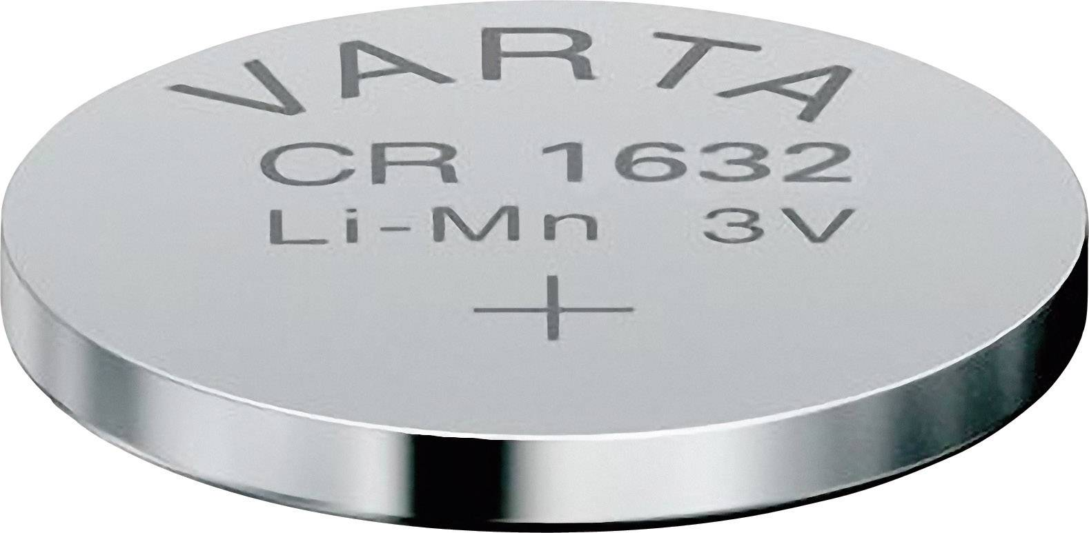 Knoflíková baterie Varta CR1632, lithium, 06632101401
