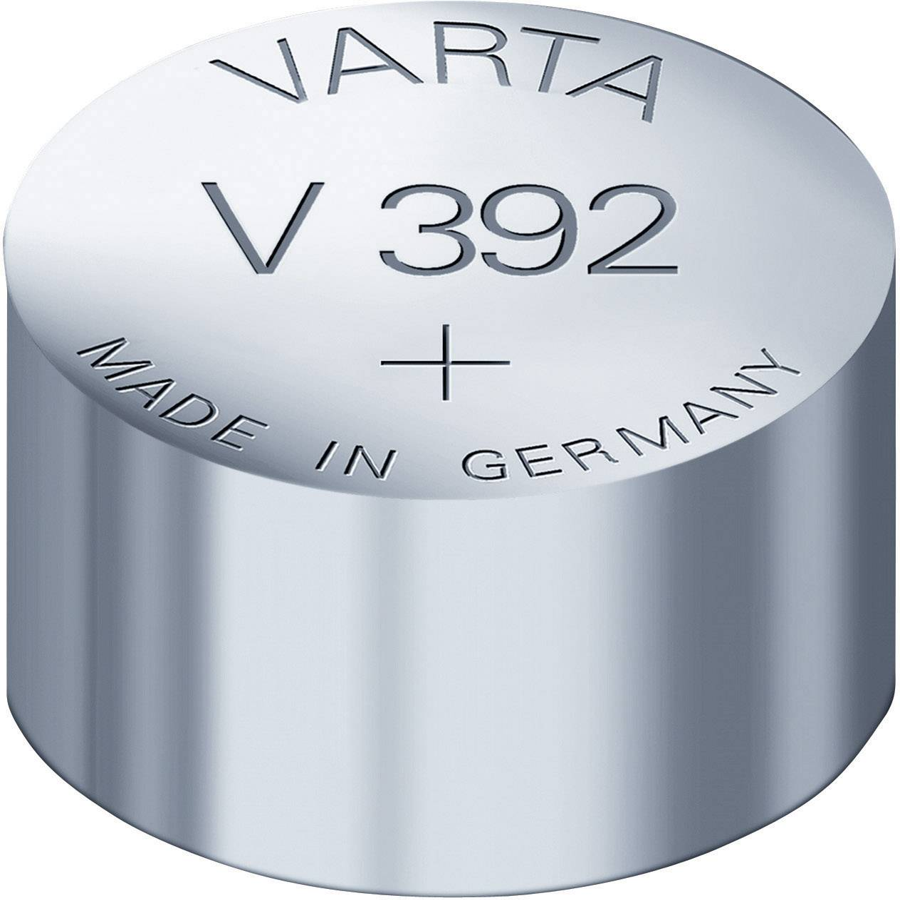 Knoflíková baterie 392, Varta SR41, na bázi oxidu stříbra, 00392101401