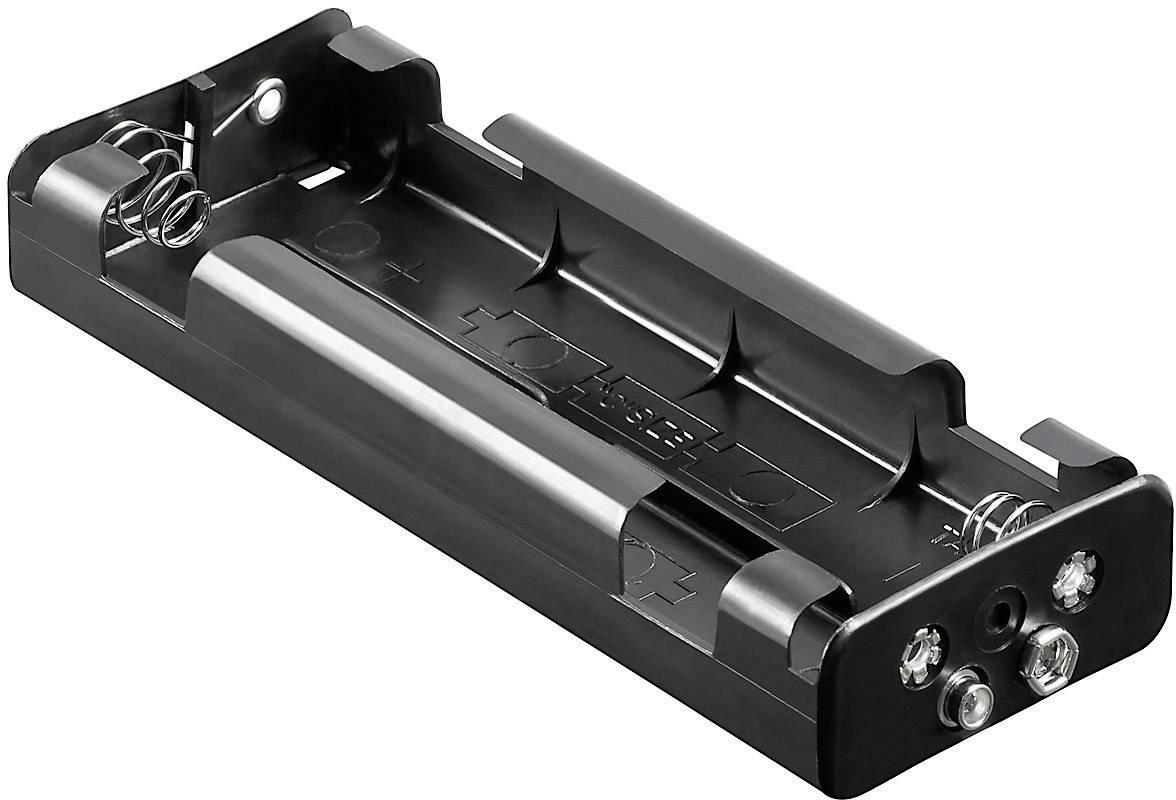Batériový držák na 6x baby (C) Goobay 10876, (d x š x v) 159 x 57.3 x 24.9 mm