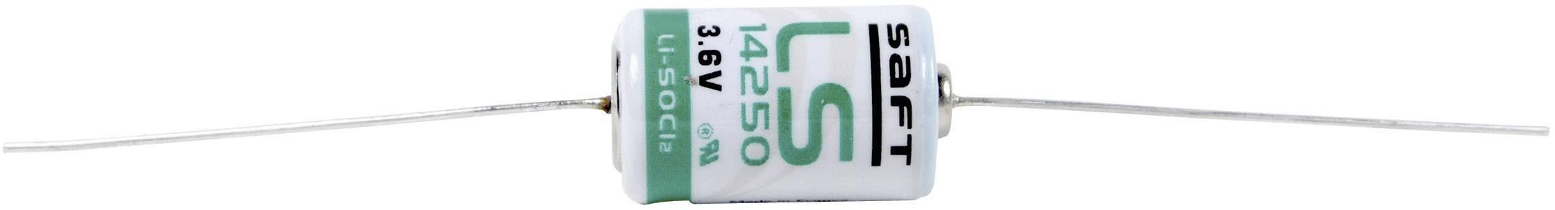 Špeciálny typ batérie 1/2 AA lítium, Saft LS 14250 CNA, 1200 mAh, 3.6 V, 1 ks