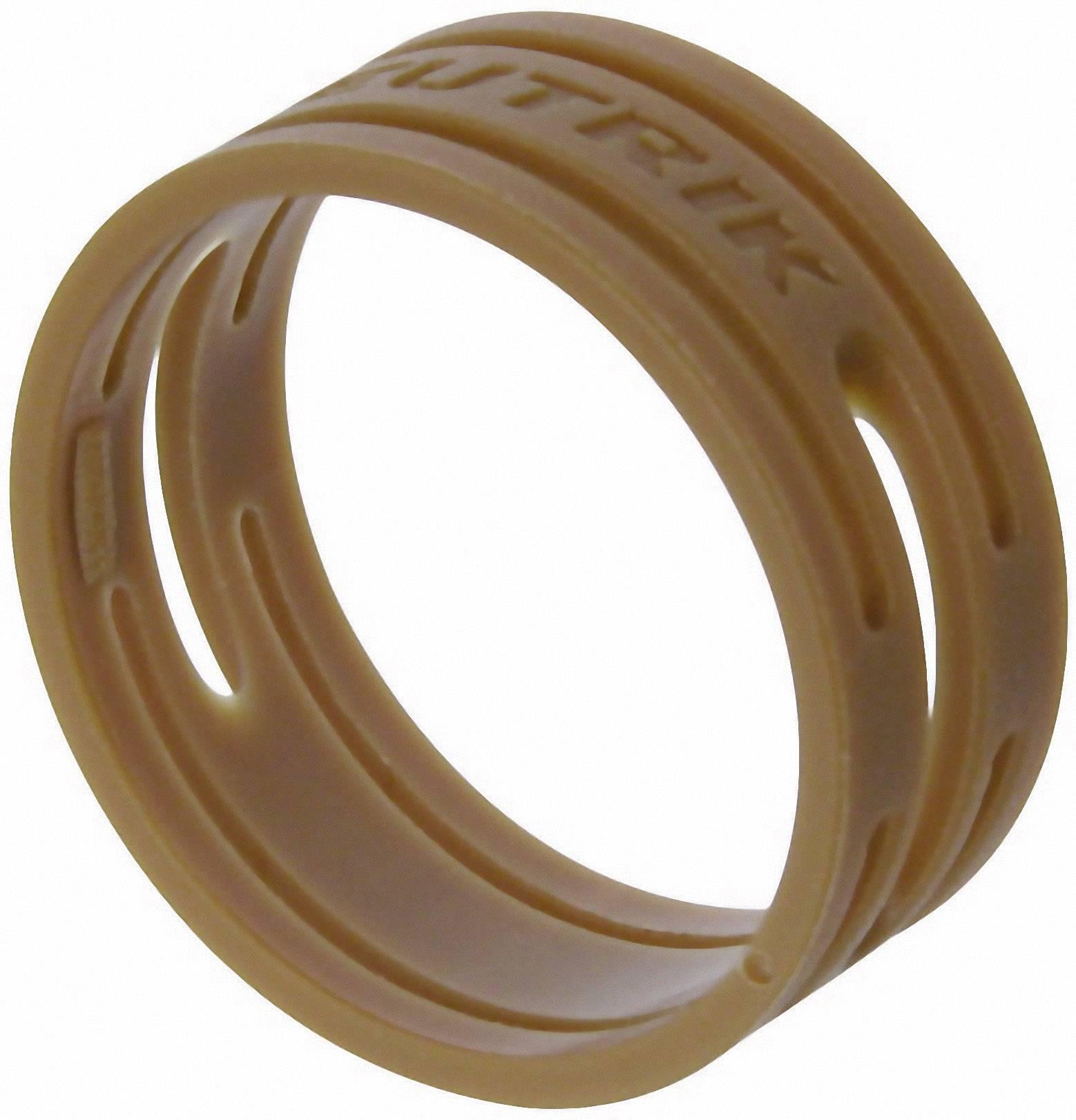 Kódovací kroužek Neutrik XXR-SET-1-CON, 10 ks, hnědá