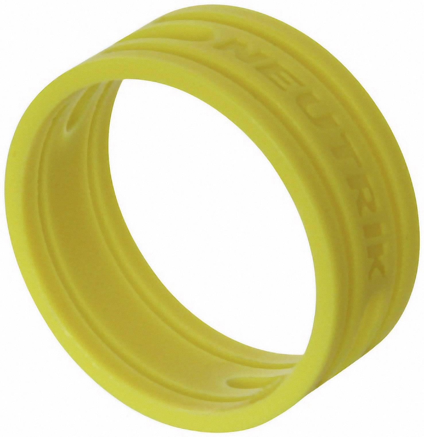 Kódovací krúžok Neutrik XXR-SET-4, žltá, 10 ks