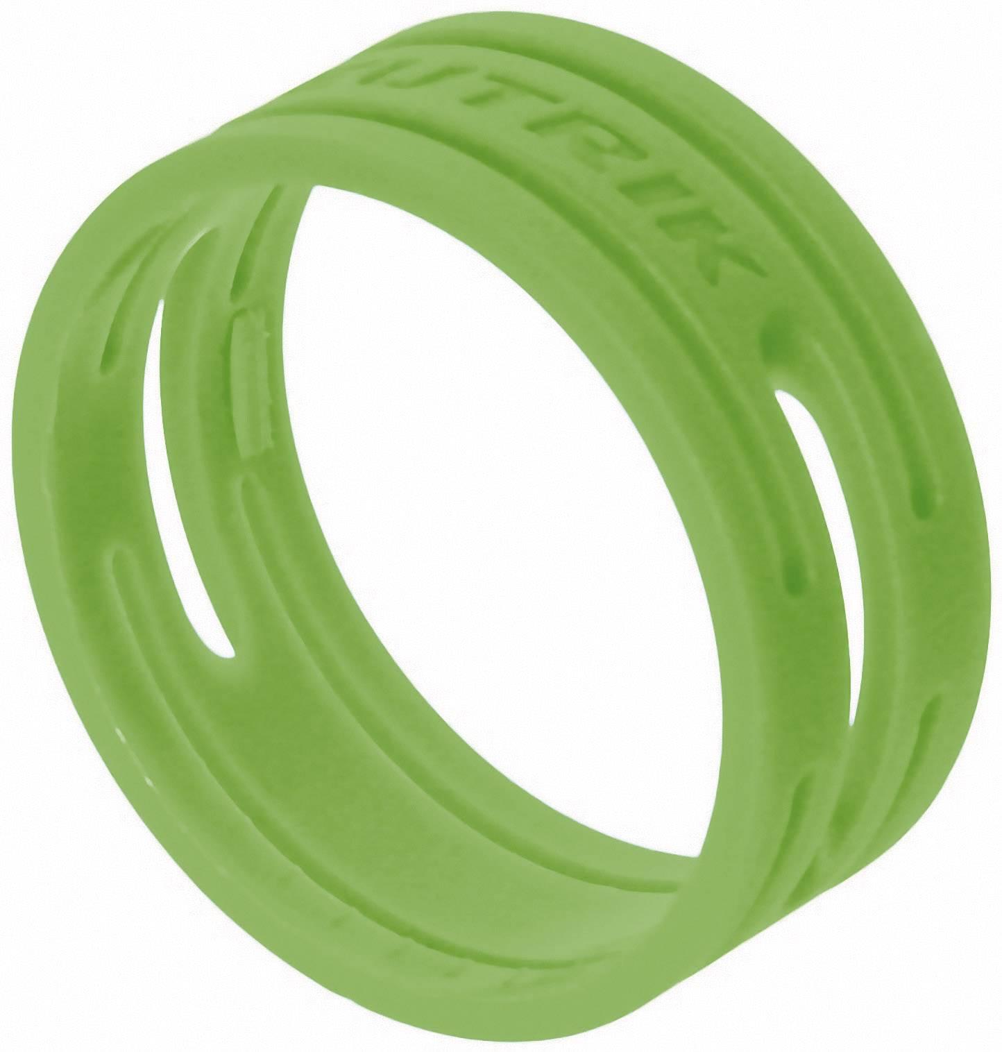 Kódovací kroužek Neutrik XXR-SET-5-CON, 10 ks, zelená