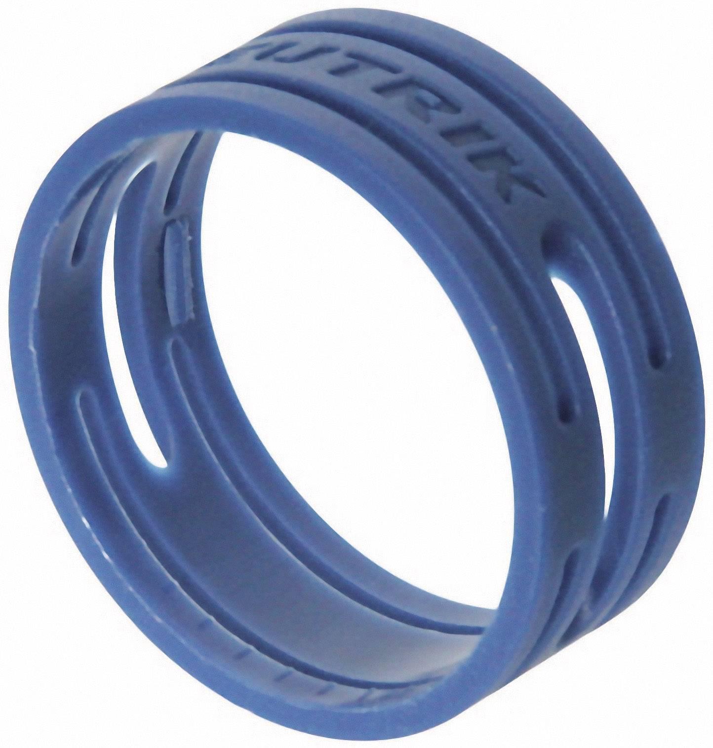 Kódovací krúžok Neutrik XXR-SET-6, modrá, 10 ks