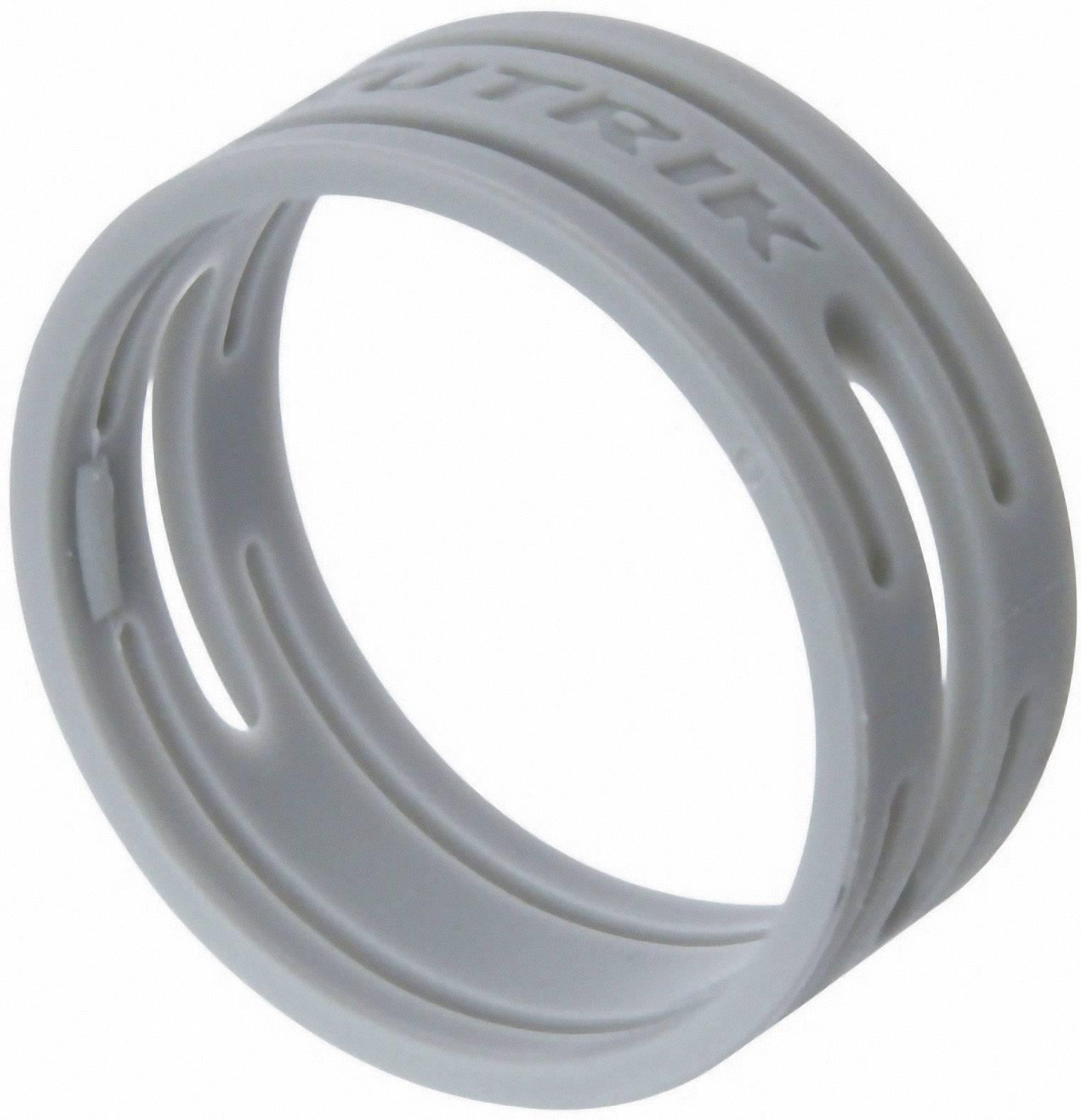 Kódovací krúžok Neutrik XXR-SET-8, sivá, 10 ks