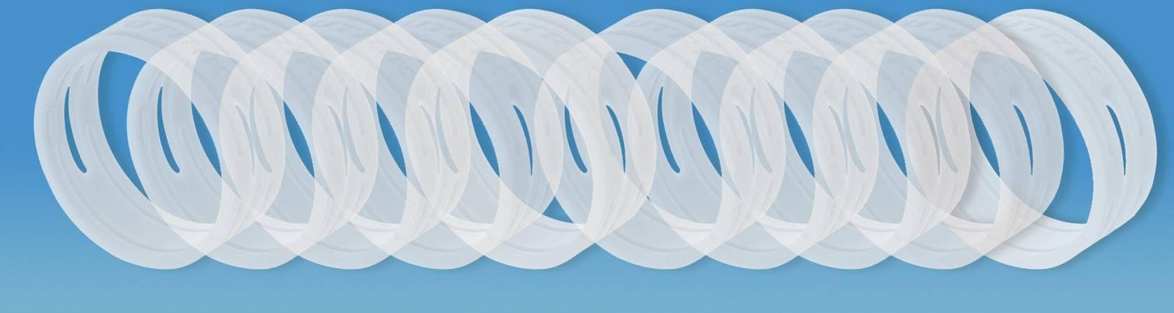 Kódovací kroužek Neutrik XXCR-SET-MIX, 10 ks, transparentní