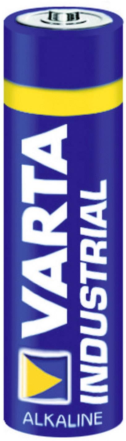 Alkalická baterie Varta, typ AA Industrial
