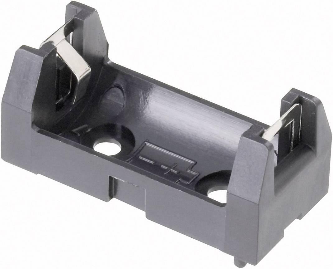 Batériový držák na 1x 1/2 AA Keystone 108, (d x š x v) 34.5 x 16 x 15 mm