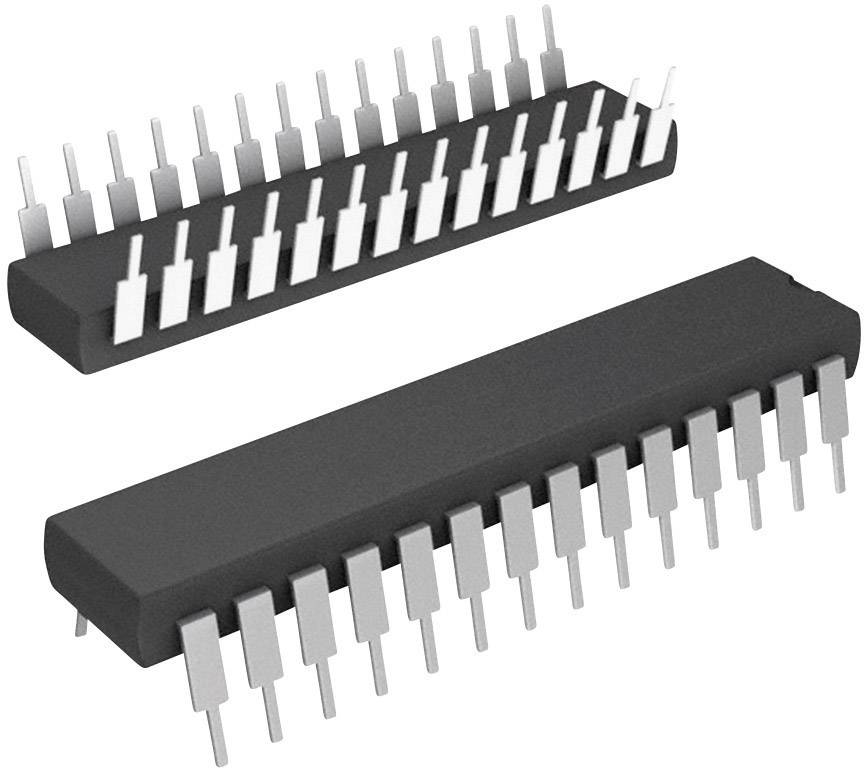 Mikroradič Microchip Technology PIC18F25J50-I/SP, SPDIP-28, 8-Bit, 48 MHz, I/O 16