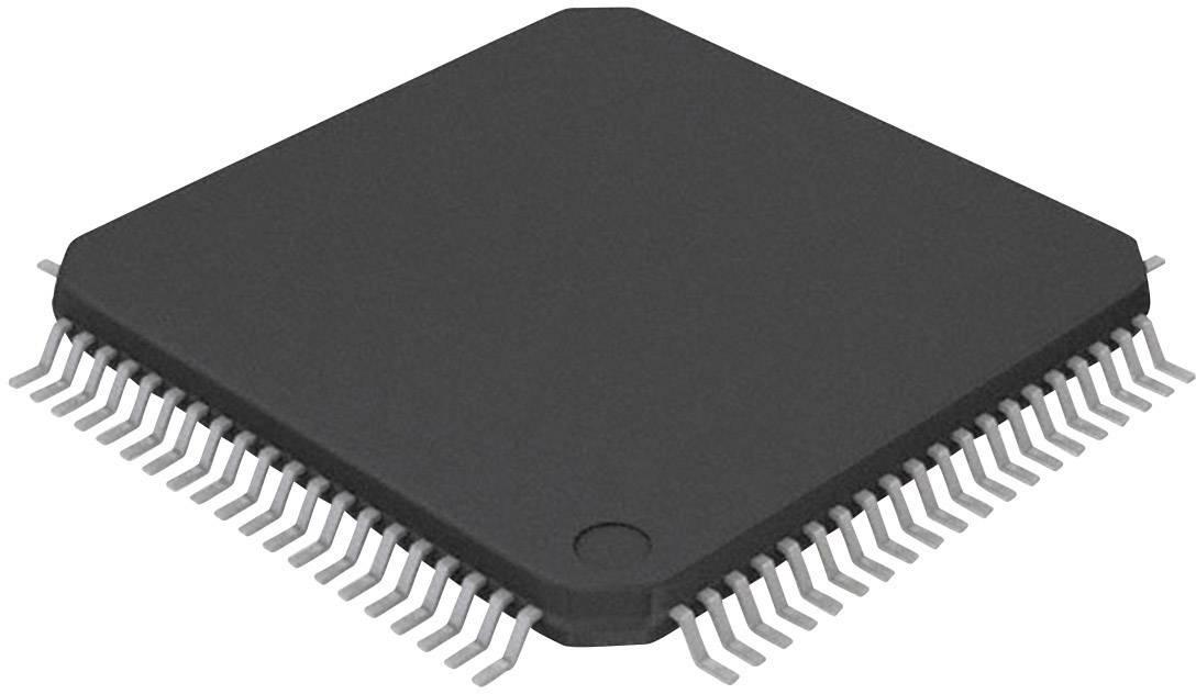 Mikrořadič Microchip Technology PIC24FJ128GA008-I/PT, TQFP-80 (12x12), 16-Bit, 16 MHz, I/O 69