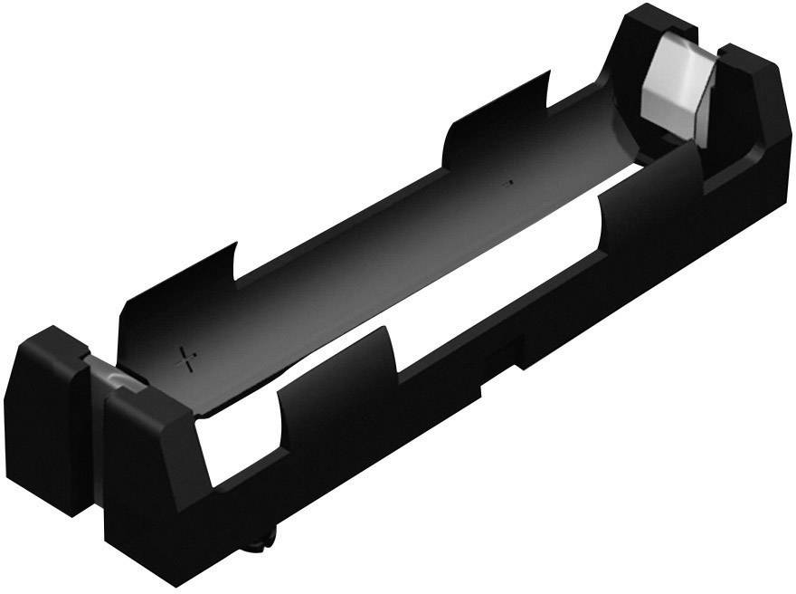 Batériový držák na 1x 18650 Keystone 1043, (d x š x v) 77 x 20.65 x 14.86 mm