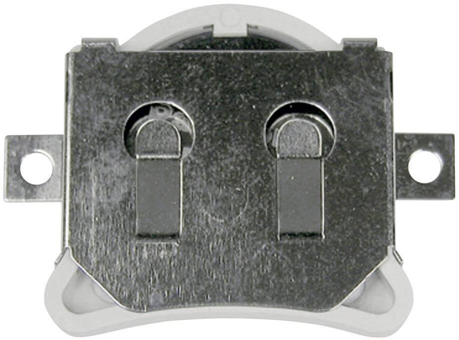 Izolovaný držák na knoflíkovou baterii CR2032 MPD, SMD