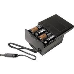 Batériový box na 8x mignon (AA) MPD BK-030, (d x š x v) 71.8 x 65.28 x 37.08 mm