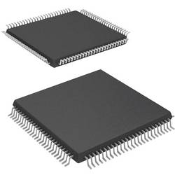 Mikroradič Microchip Technology PIC32MX360F512L-80I/PT, TQFP-100 (12x12), 32-Bit, 80 MHz, I/O 85
