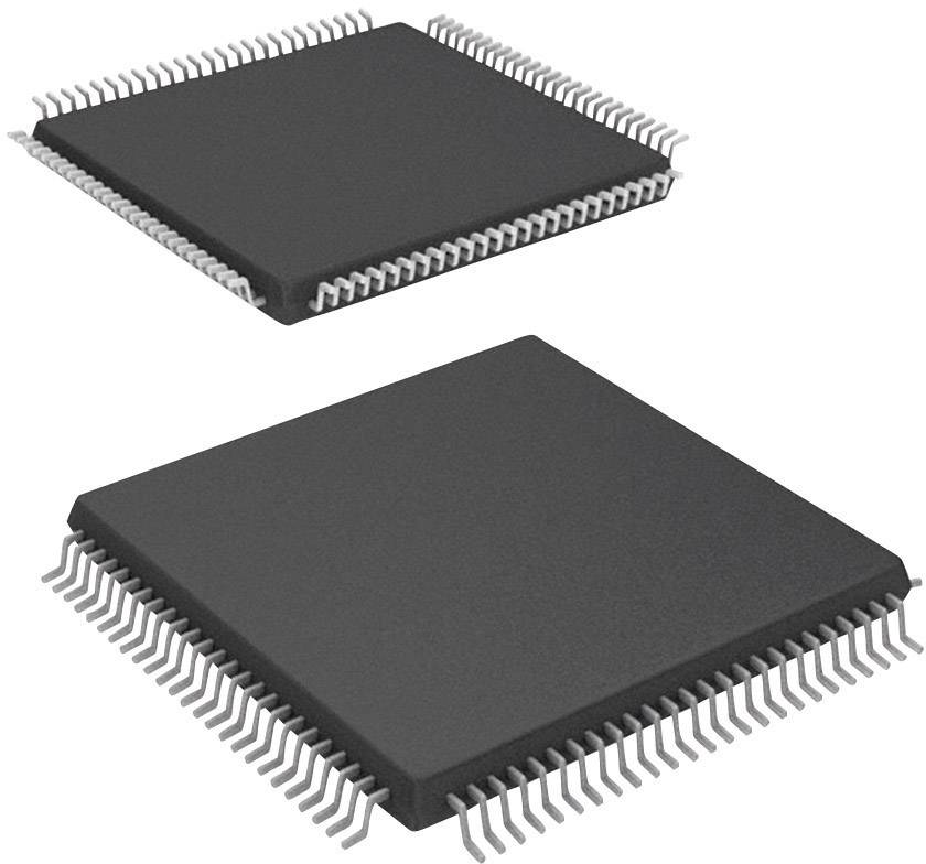 Mikroradič Microchip Technology dsPIC33FJ64GS610-I/PT, TQFP-100 (12x12), 16-Bit, 40 MIPS, I/O 85