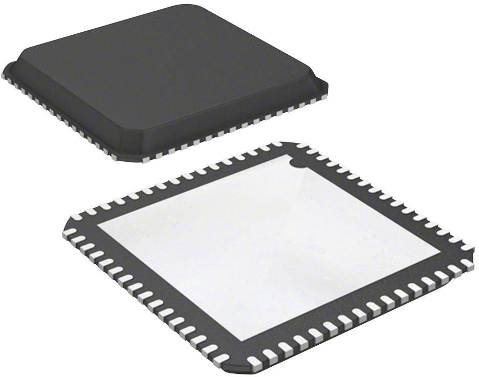 Mikroradič Microchip Technology DSPIC33EP256MU806-I/MR, QFN-64 Exposed Pad (9x9), 16-Bit, 60 MIPS, I/O 51