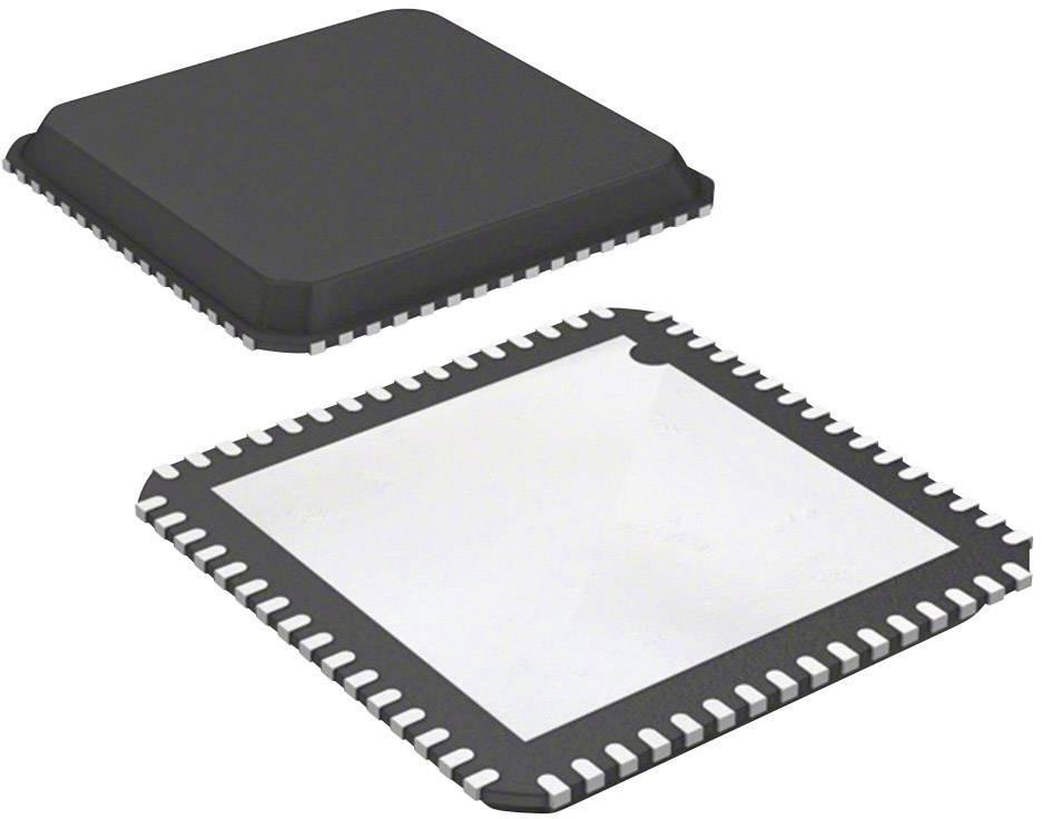 Mikroradič Microchip Technology PIC32MX534F064H-I/MR, QFN-64 Exposed Pad (9x9), 32-Bit, 80 MHz, I/O 53