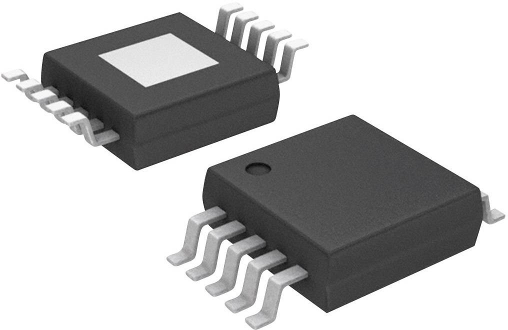 IO Analog Digital prevodník (ADC) Microchip Technology MCP3423-E/UN, MSOP-10