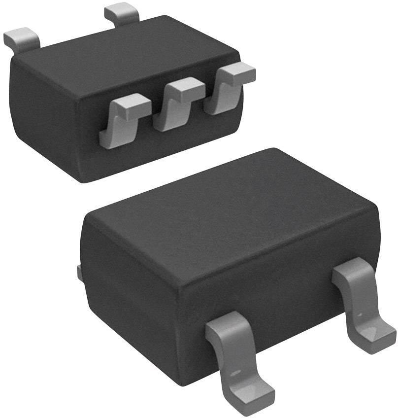 Lineární IO - teplotní senzor a měnič Microchip Technology MCP9701AT-E/LT, SC-70-5