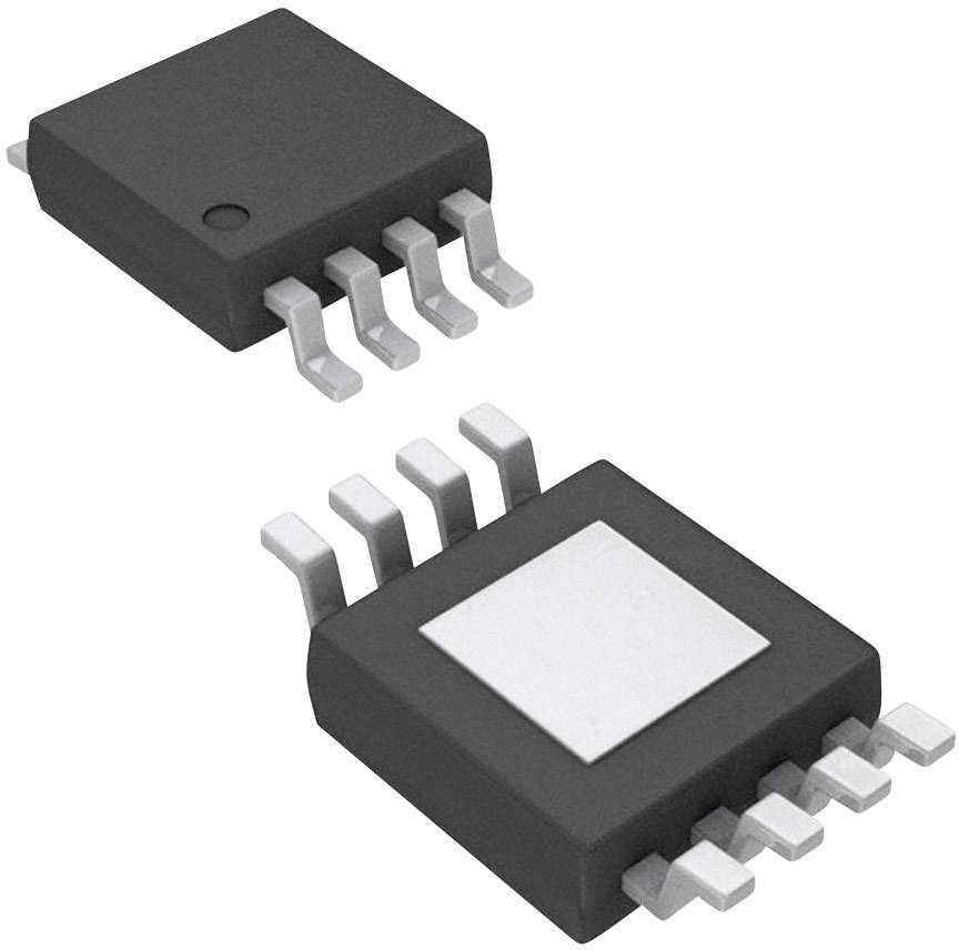 IO Analog Digital prevodník (ADC) Microchip Technology MCP3426A0-E/MS, MSOP-8