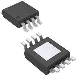 Lineárne IO - teplotný senzor a menič Microchip Technology MCP9808-E/MS, MSOP-8