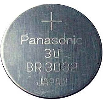 Knoflíková baterie Panasonic BR3032, Lithium