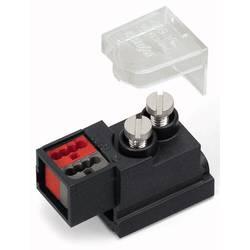 Napájecí modul kulatý kabel - plochý kabel počet kontaktů: 2, černá, 25 ks