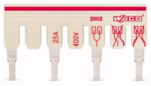 Mostík pre svorkovnice WAGO, WAGO 2002-475/011-000, 24.7 mm , 50 ks