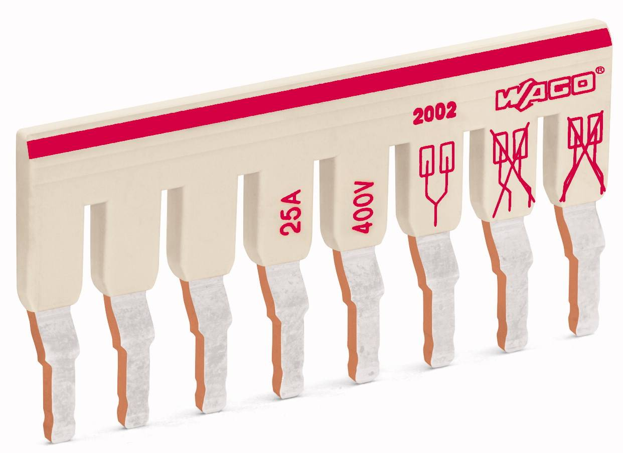 Mostík pre svorkovnice WAGO, WAGO 2002-476, 29.9 mm , 50 ks