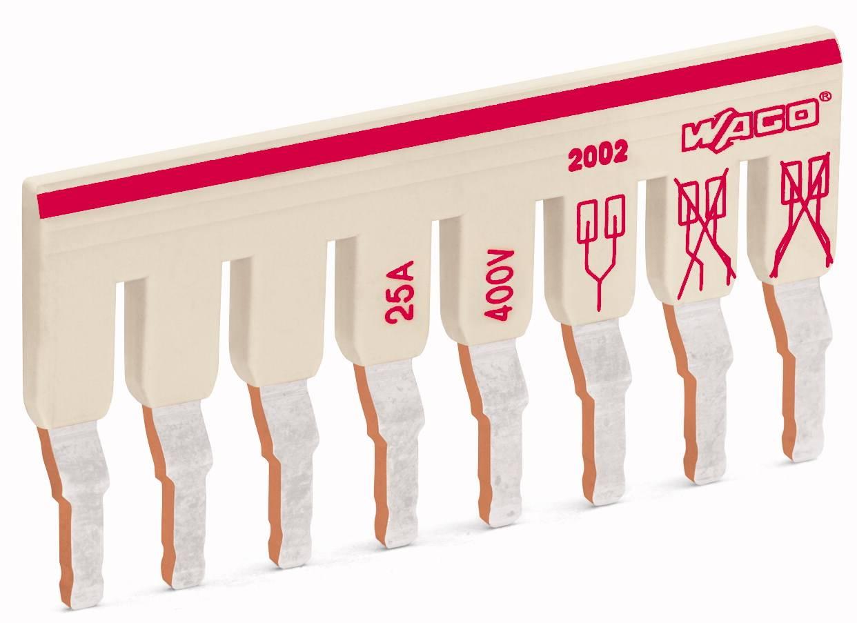 Mostík pre svorkovnice WAGO, WAGO 2002-482, 61.2 mm , 50 ks